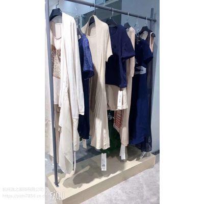 欧美品牌女装加盟店创格尘色棉麻风格春装外套尾货库存批发时尚女装走份