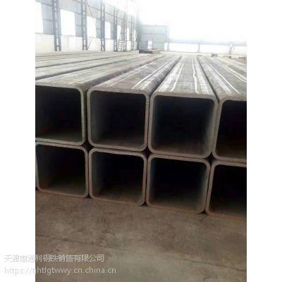 浙江方矩管 镀锌方矩管Q345B定做加工 天津惠通利钢铁一站式服务