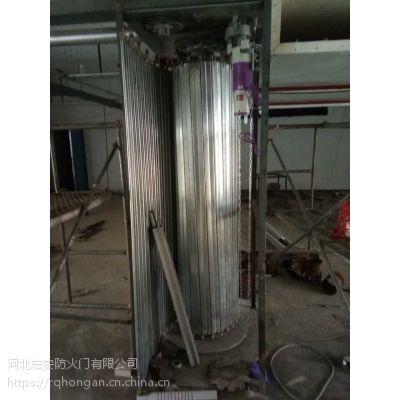 昆明复合型钢质防火卷帘门安装工程(平卧式、侧向式)