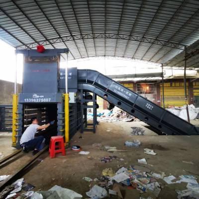 卧式废纸箱打包机生产厂家