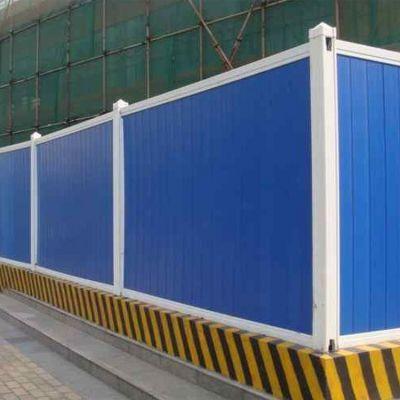 新乡供应市政建筑工程安全防护围挡 工地地铁施工pvc塑钢临时围挡