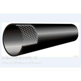 供应聚乙烯钢丝网骨架塑料复合管材管件