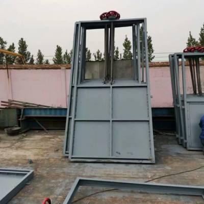 宇东渠道CBZ1000*1000插板式机闸一体钢制闸门 不锈钢304闸门供应定制