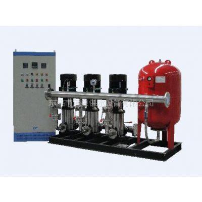 东莞恒压变频供水设备及无负压变频供水设备生产厂家 承接订单