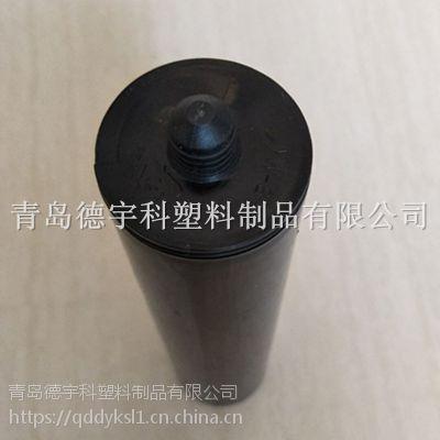 即墨厂家直销 300ml黑色通用玻璃胶瓶 量大从优 可包印刷HDPE 德宇科