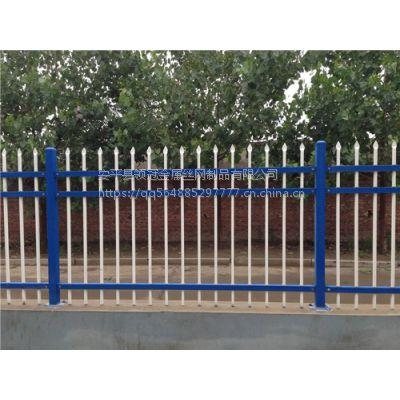 江苏无锡锌钢护栏报价&无锡厂区小区锌钢围墙围栏多少钱一平米