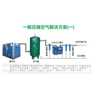 成都 55KW智能风空压机 12.5m3压缩机 四川亚源机电设备 双级压缩