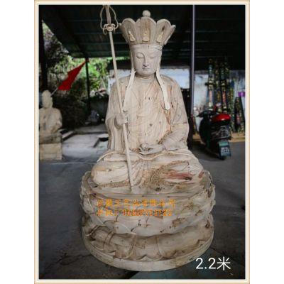 制造地藏王菩萨佛像|正圆木雕|地藏王菩萨木雕佛像生产厂家