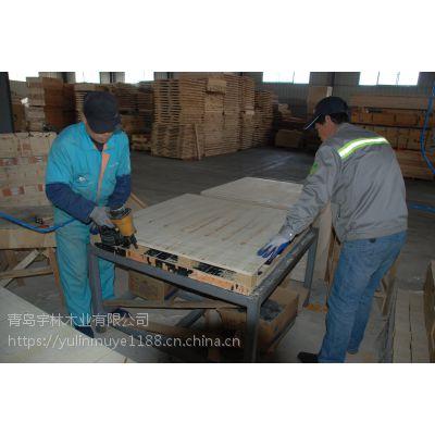 汽车配件运输用出口免熏蒸胶合板木托盘定制尺寸