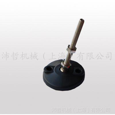 Bezel现货输送机支撑脚 小球头80尼龙脚盘 防滑防震 流水线配件