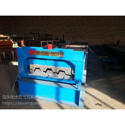 收售新旧全自动750型楼承板机大旺彩钢设备