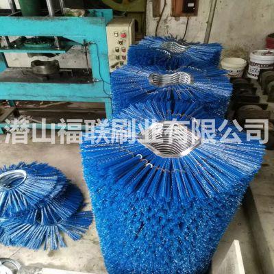 160*660纯钢丝雪刷刷片,耐磨钢丝扫雪刷片