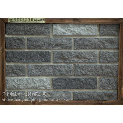 博鳌文化石灰砖白色文化砖电视背景墙砖仿古砖客厅室内瓷砖3058