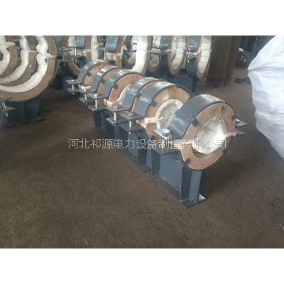 LRH长输热网蒸汽滑动管托 膨胀蛭石绝热滑动管托 祁源电力