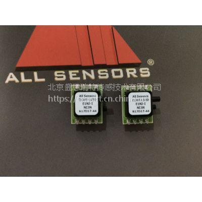 All sensors压力传感器DLVR-L05D-E1BD-I-NI3N数字输出双晶圆