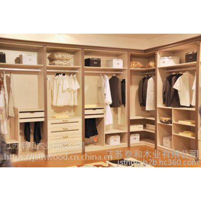 科比迪尼实木衣柜定制-仿古雕花衣柜