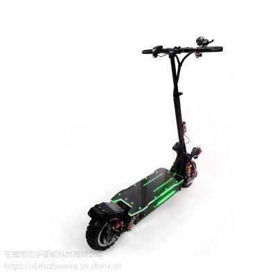 达孚电动滑板车11寸60V越野双驱可折叠电动车