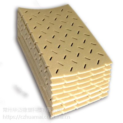 优质人造草三维透水弹性垫层 弹性基础 足球场减震层 吸震层