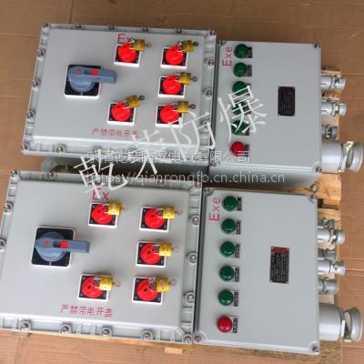 BXM(D)51-4k/8k/12防爆照明配电箱 四回路防爆照明配电箱