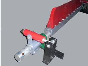 供应济宁安特力二道聚氨酯清扫器 P型清扫器