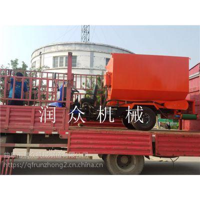 五立方柴油撒料车 润众 小型家用撒料车