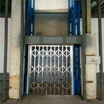 聊城2层3吨厂房货物提升机定做/坦诺车间液压升降货梯厂家