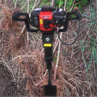 铲头式移苗机 大马力汽油起树机 苗木树木断根机