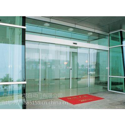惠东安装电动平移玻璃门,电动感应玻璃门安装电路图