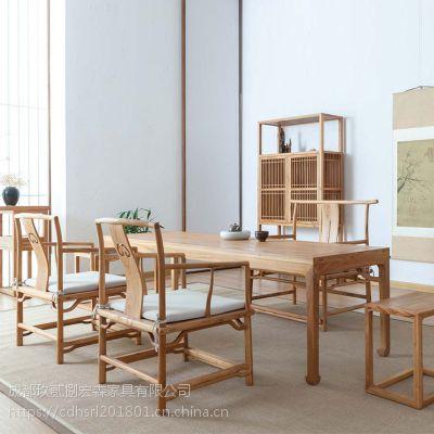 成都新中式古典中式禅意家具 成都实木家具定做