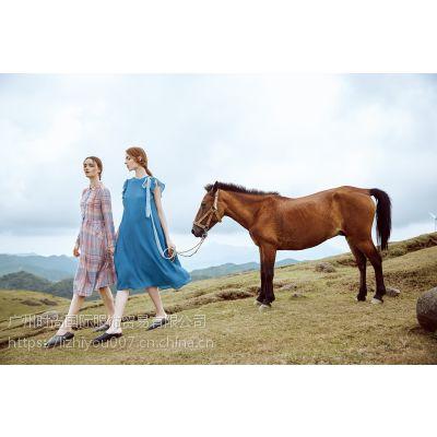 广州时尚国际服饰批发大量折扣女装品牌折扣女装
