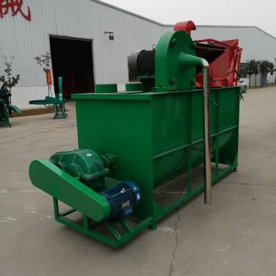 青贮饲料搅拌机服务周到 辽宁小型饲料搅拌粉碎机