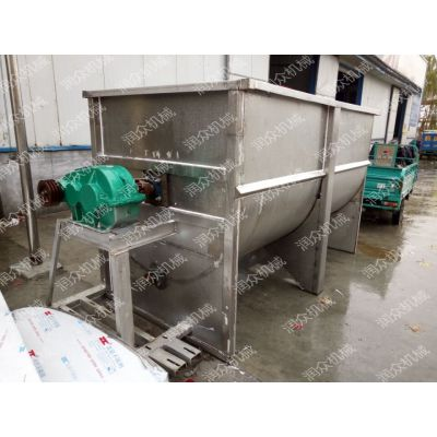 RZ不锈钢饲料搅拌机 饲料混合机电动 搅拌机厂家