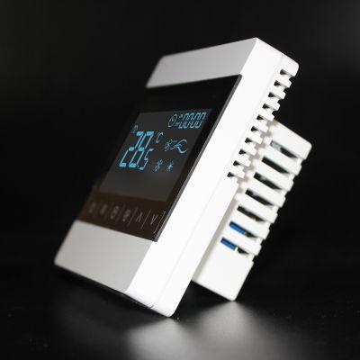 亿凯触摸屏液晶温控器风机盘管控制面板