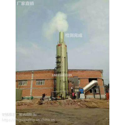 五台县燃煤玻璃钢脱硫塔哪家好昱诚玻璃钢脱硫塔厂家