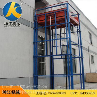 厂家生产导轨式电动液压升降机家用外墙电梯小型升降货梯