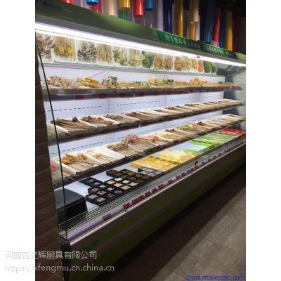 郑州保鲜菜品展示柜不锈钢风幕柜专业厂家
