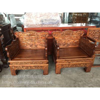 优质木材,在仿明清家具的基础上精雕细啄,精益求精,以求完量身定制仿古实木家具 禅意家具定制 中式家具