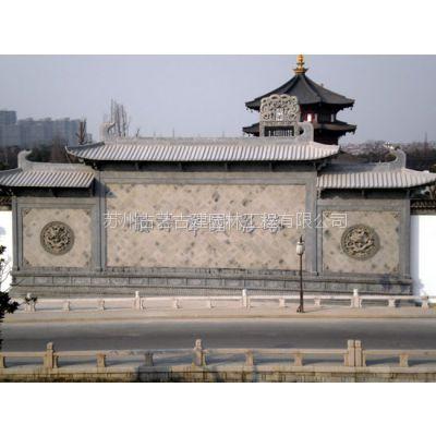 人物砖雕 砖雕门楼 广场泥塑