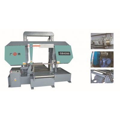 GB4270金属带锯床 4270液压半制动锯床