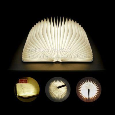 供咖啡厅酒吧LED书灯 WZBX001现代创意翻页书灯