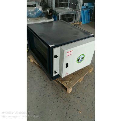 QP-8000风量低空排放油烟净化器处理2-3个饭店灶眼