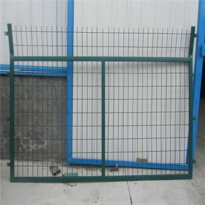 园林护栏网 围墙铁丝网 篮球场护栏网