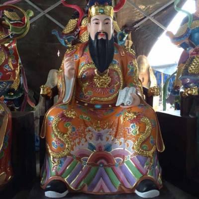 浙江木雕神像雕刻厂家,正圆铸铜道教神像生产厂家,铜雕佛像