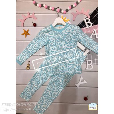 妙精灵 未来天使家居服儿童服装品牌折扣尾货清仓批 厂家直销