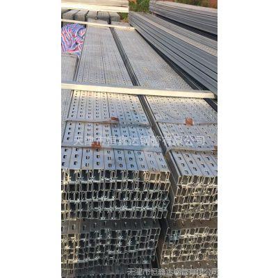 厂家直销 无锡冷拉异型型材材质Q235B太阳能光伏支架现货批发