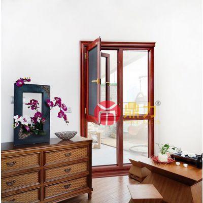 别墅门窗定制90框一体窗简约大气上档次