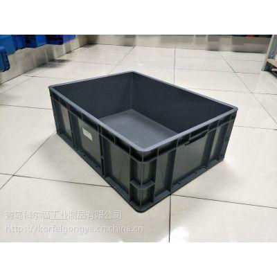 山东烟台地区厂家直销全新料PP可堆式周转箱塑料周转箱质优价廉选科尔福