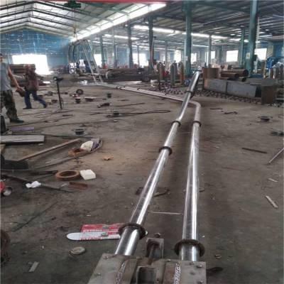 专业链板输送机规格耐磨 粉体料管链机