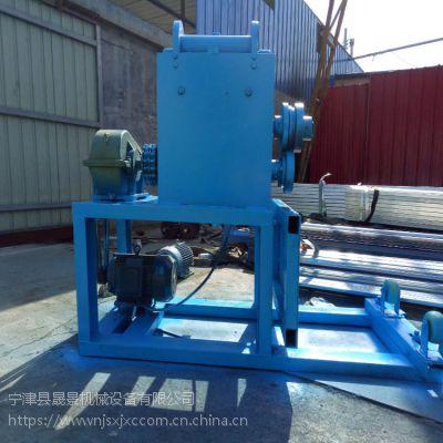 特种节能设备--废旧油桶开盖机宁津晟景专业制作