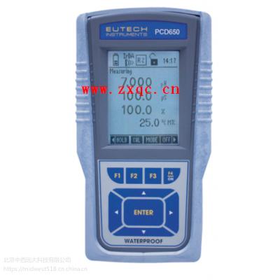 优特水质-多参数防水型测量仪SG18-Eutech PCD650 库号:M403588
